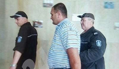 Игор Труховский на влизане в съда днес СНИМКА: Елена Фотева