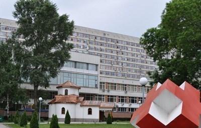 """Момченце е прието в университетската болница """"Св. Георги"""" в Пловдив с изгаряния по гърба, гърдите и главата. Снимка Архив"""
