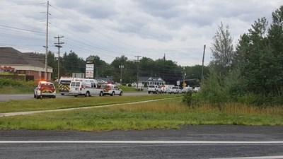 Престрелка във Фредериктън остави най-малко 4 трупа. Снимка РОЙТЕРС