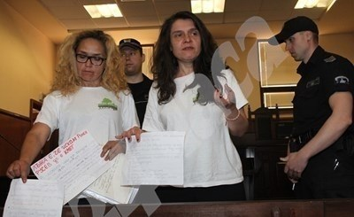 Десислава Иванчева и Биляна Петрова СНИМКА: Румяна Тонева/ Архив