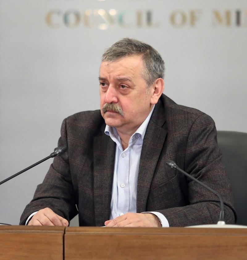 Д-р Тодор Кантарджиев СНИМКА: Правителствена информационна служба