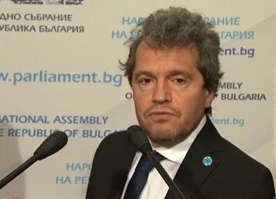 Зам.-председателят на ИТН Тошко Йорданов