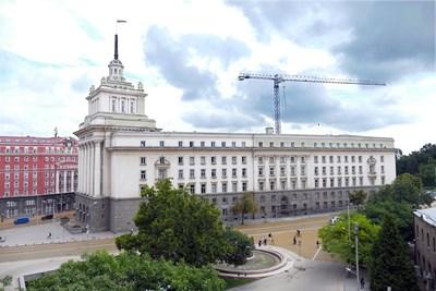 Сградата на парламента СНИМКА: Пиер Петров