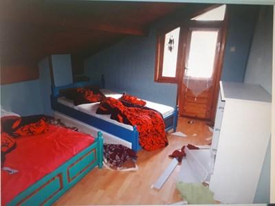 В къщата са нанесени сериозни материални щети