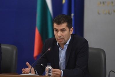 Служебният министър на икономиката Кирил Петков