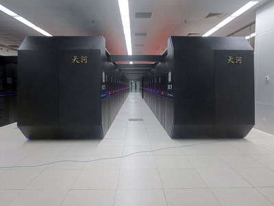 """""""Тиенхъ 2"""" в националния център в Гуанджоу СНИМКА: Уикипедия/O01326"""