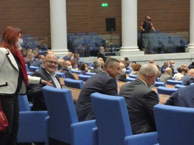 Ветото бе отхвърлено без дебати в зала. Снимка: Румяна Тонева