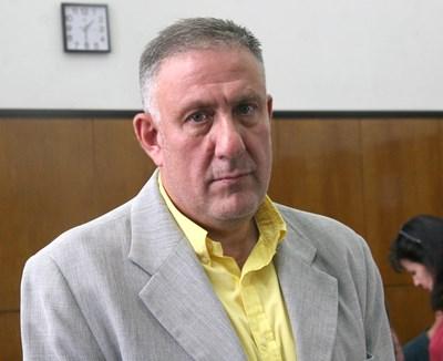 Д-р Иван Димитров в съда СНИМКА: Евгени Цветков