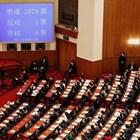 Великобритания, САЩ, Австралия и Канада обвиниха днес Пекин, че нарушава международните си задължения, след като китайският парламент прие спорен законопроект за сигурността в Хонконг. СНИМКА: Ройтерс