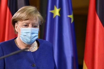Ангела Меркел. Снимка Ройтерс