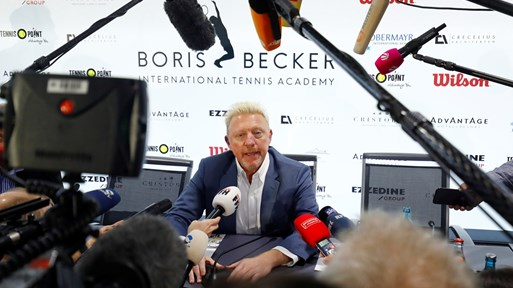 Борис Бекер - все така арогантен бохем, макар затънал до шия и заплашен от затвор