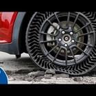 Автомобилни гуми без въздух
