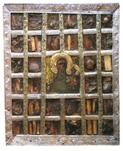 """Чудотворната икона на Света Богородица """"Одигитрия"""", или """"Пътеводителка"""", е най-старата светиня на Българската православна църква."""