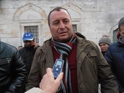 Кметът на пострадалото Хитрино Нуридин Исмаил СНИМКА: Архив