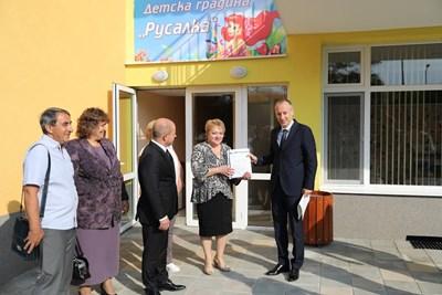 Министър Красимир Вълчев в Русе  СНИМКИ: Авторът