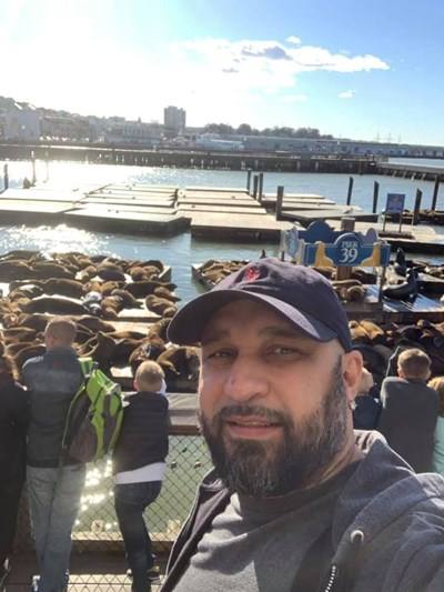Днес Мишо Шамара живее в САЩ.  СНИМКИ: ФЕЙСБУК И АРХИВ