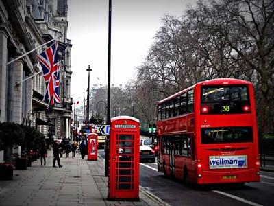 Лондонска улица СНИМКА: Пиксабей