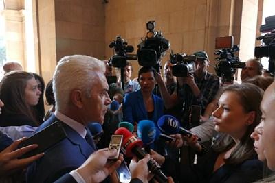 Волен Сидеров влиза в Министерския съвет СНИМКА: Пиер Петров