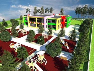 Така ще изглежда новата детска градина във Велико  Търново СНИМКА: Община Велико Търново