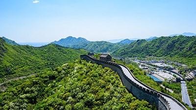 """Още един участък на Великата китайска стена отново отвори врати за посетители СНИМКА: """"Радио Китай"""""""