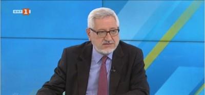 Проф. Ангел Димитров Кадър: БНТ