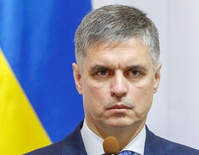 Министърът на вънпните работи на Украйна Вадим Пристайко СНИМКА: Ройтерс