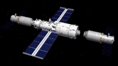 """Товарният космически кораб """"Тиенджоу-3"""" се скачи с космическата станция"""