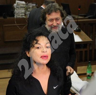 Николай и Евгения Баневи в съда СНИМКА: Благой Кирилов/архив СНИМКА: 24 часа