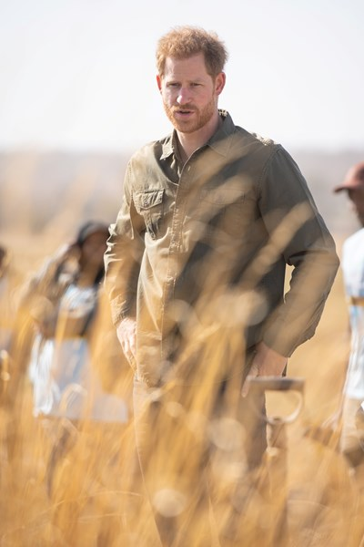 Принц Хари в Ботсвана СНИМКИ: Ройтерс