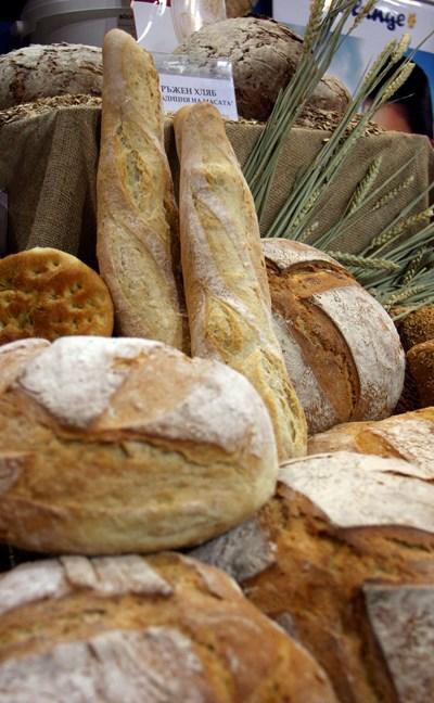 Консумацията на хляб през изминалата година се е увеличила