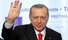 От Варна Ердоган заяви претенции за нов мандат