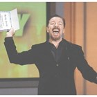 Джървейс на наградите ЕМИ през 2010 г. СНИМКА: Ройтерс