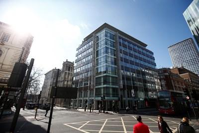 """Централата на """"Кеймбридж Аналитика"""" в Лондон СНИМКА: РОЙТЕРС"""