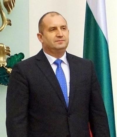 Президентът Румен Радев. Снимка Архив