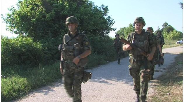 Военни завардиха пътеките на трафикантите от 90-те