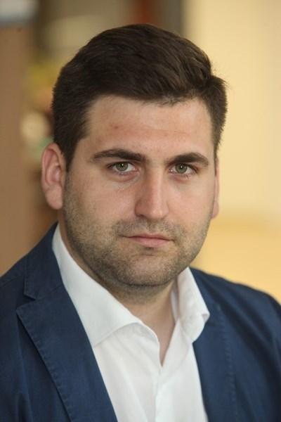 Евродепутатът от ГЕРБ/ЕНП Андрей Новаков СНИМКА: Румяна Тонева