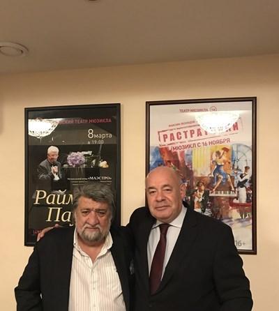 """Михаил Швидкой нарича Рашидов """"най-добрия министър на културата"""""""