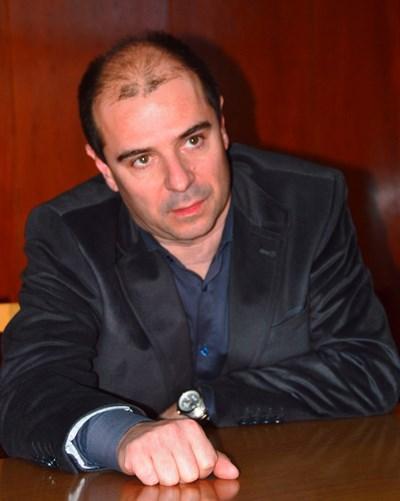 Ст. комисар Калоян Калоянов  Снимка: ЕЛЕНА ФОТЕВА