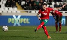 Хичо в серия от 4 мача с 5 гола, вкара за България 10 г. след дебюта