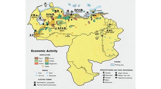 Венецуела не е просто една от най-богатите страни на света, а най-богатата