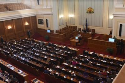 Депутатите решават дали да разпуснат НС СНИМКИ: Велислав Николов