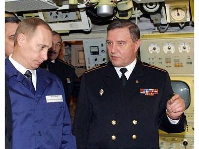 Владимир Куроедов докладва на Владимир Путин.