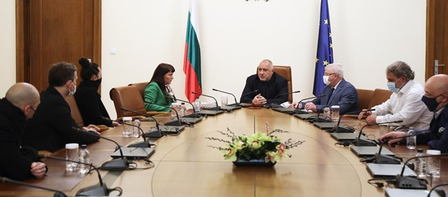 Борисов: Правителството дава 4 267 000 лева за музиканти
