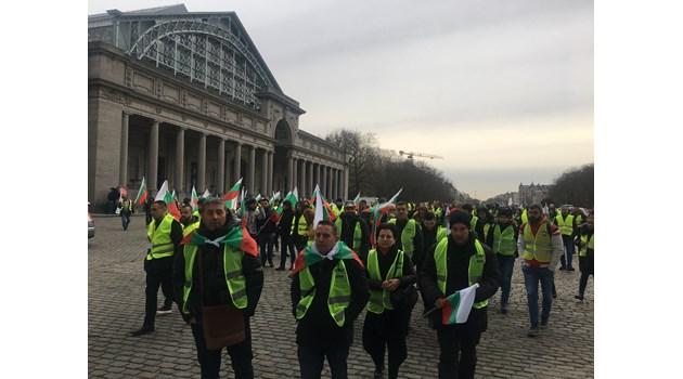 Първи български международен протест завърши с победа в Брюксел (Обзор)