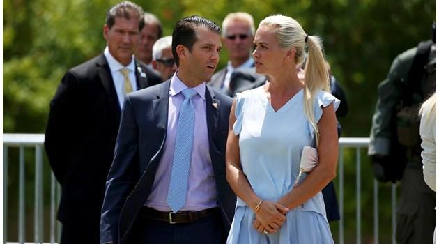 Бившата моделка Ванеса иска развод с Тръмп-младши