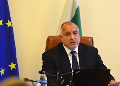 Министър-председателят Бойко Борисов СНИМКА: Архив