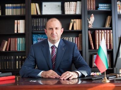 Президентът Румен Радев. СНИМКА: сайт на държавния глава