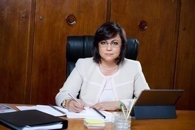 Лидерката на левицата Корнелия Нинова СНИМКА: Архив