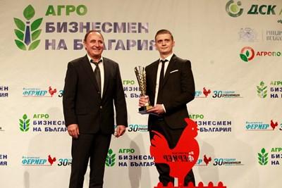 """Николай Минев е """"Агробизнесмен на България"""" за 2020 г. СНИМКИ: Велислав Николов"""