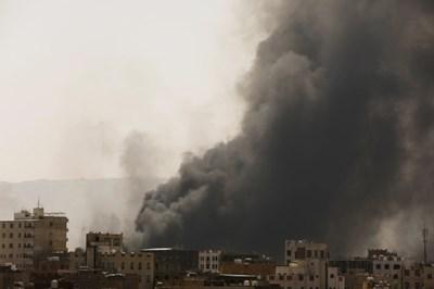 Атака с дрон в Саудитска Арабия СНИМКА: РОЙТЕРС